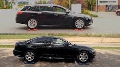 Opel Insignia 2.0 CDTI 4x4 vs Audi A6 2.0 TDI Quattro - test on rollers