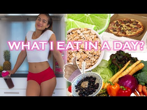 WHAT I EAT IN A DAY? #pizzalife #reallife