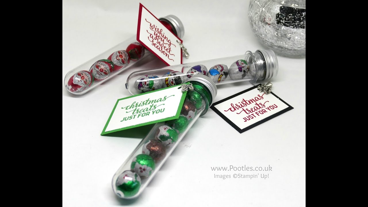 Download Pootles Advent Countdown 2016 #11 Test Tube Chocolate Treats