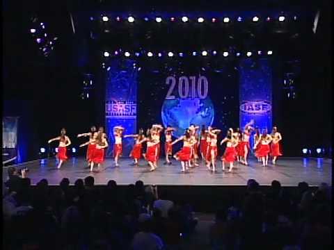 Dance Worlds 2010: JF Oberline University Intl Open Jazz 2nd place (Japan)
