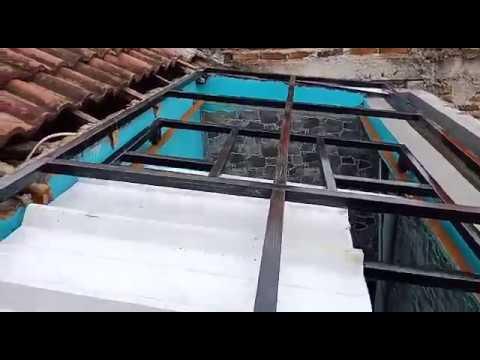 proses pembuatan canopy geser untuk dapur perumahan ,coba yang belum pernh pasti menjadikan ilmu