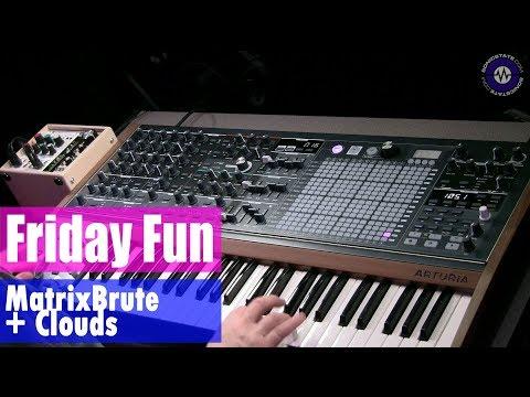 Friday Fun Matrixbrute Synth Jam