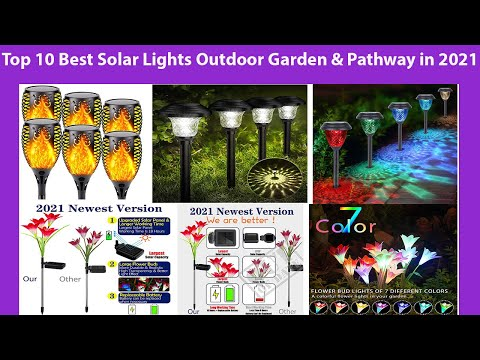 Top 10 Best Solar Lights Outdoor Garden & Pathway in 2021