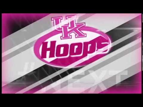 Kentucky Wildcats TV: UK Hoops 2014 Pink Intro