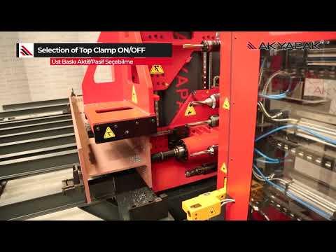 METEOR 1200 Single Head CNC Drill Line / Tek İş Milli CNC Delik Delme Hattı