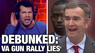 DEBUNKED: Virginia Gun Rally Lies | Louder with Crowder