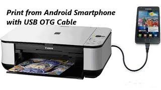 VERY SIMPLE  HOW  TO PRINT USING  ANDROID USB OTG CABLE{NEW APPS}---EPISODE---4
