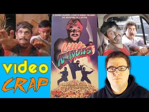 Random Movie Pick - Little Ninjas aka 3 Little Ninjas and the Lost Treasure (1990) - VideoCrap VHS Bad Movie Review YouTube Trailer