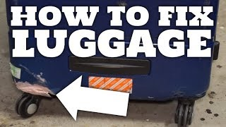 How to fix or reinforce hard shell luggage for under $10
