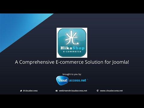 HikaShop: A Comprehensive E-commerce Solution for Joomla!