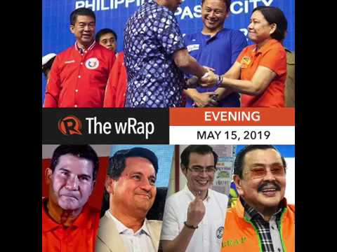 96 69 of partial unofficial results of 2019 philippine elections are in evening wrap