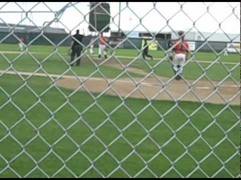 Mickey Phelps Homerun Laramie Colts vs Cheyenne Gr...