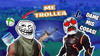 ¡SIN SKIN DE XBOX ME TROLLEA! - Fortnite - Gena Digital Game