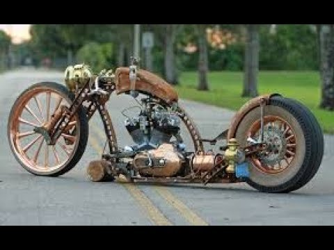 The Best Of Rat Rod And Steampunk Motorcycles