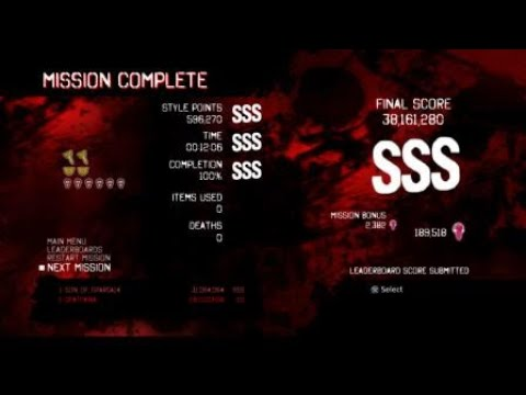 DmC Devil May Cry DE GMD(Dante) Mission 5 SSS Rank Clear |