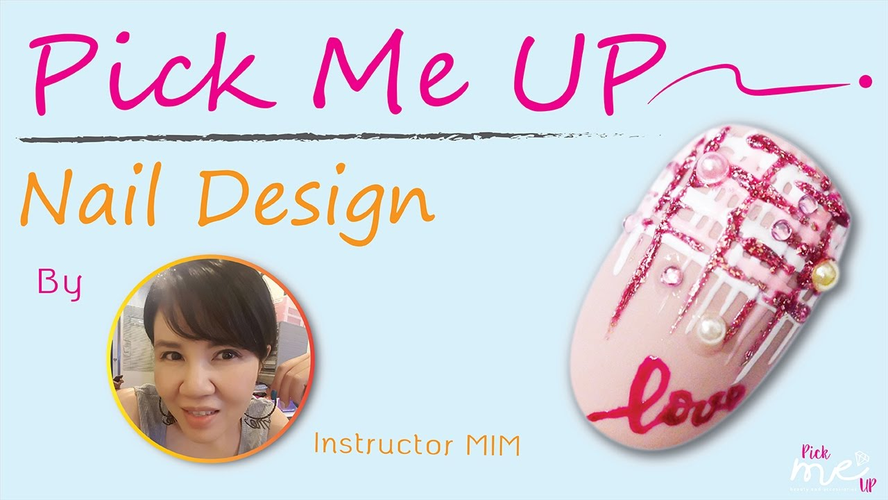 PICK ME UP NAIL DESIGN : Sweet Winter Nail - YouTube