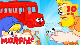 Bus Morphle and the Sick Pet - Mila and Morphle | Vehicles for Kids | Morphle TV