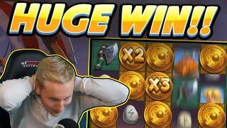 HUGE WIN!!! Viking Clash BIG WIN - Casino game from CasinoDaddy Live Stream