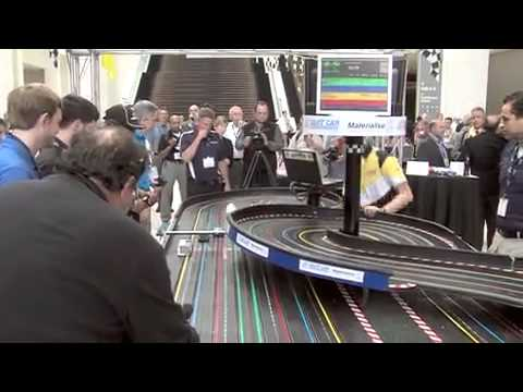 Slot Car Race @ RAPID 2014 – Detroit