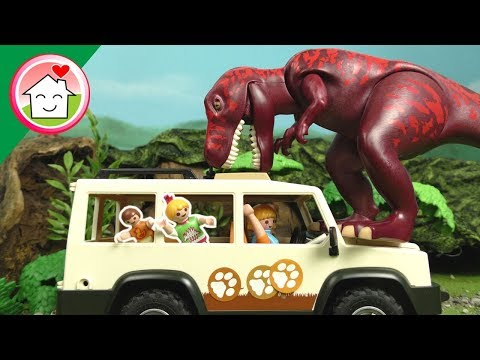 رحلة الى حديقة الديناصورات - عائلة عمر - جنه ورؤى