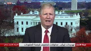 إيران.. تهديدات المضيق وسفن الحرب الأميركية