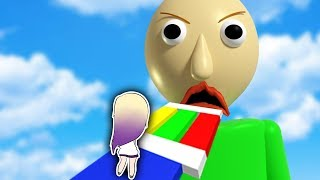 ESCAPE BALDI ON ROBLOX | OBBY