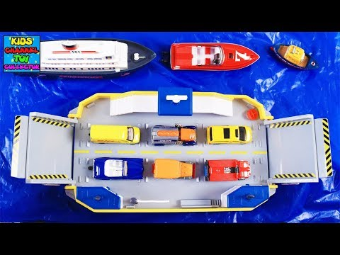 Learn Water Vehicles for Kids Children Toddlers Babies | Learning Vehicles | Ferry, Boats, Ships etc