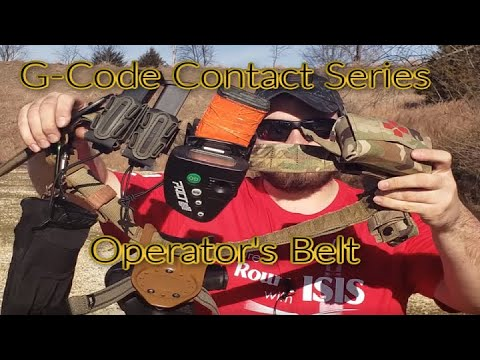 G Code Contact Series Operator's Belt Review