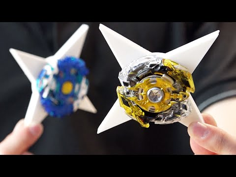 EPIC Modifications: NINJA Beyblade Frame PUT TO THE TEST - Battle with Illegal 3D Custom Parts