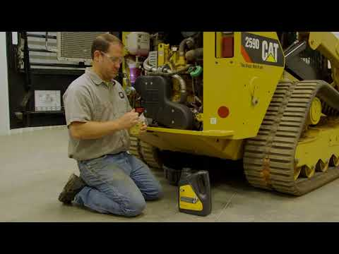 How To Change The Engine Oil And Filter On The Cat® Skid Steer Loader And Compact Track Loader