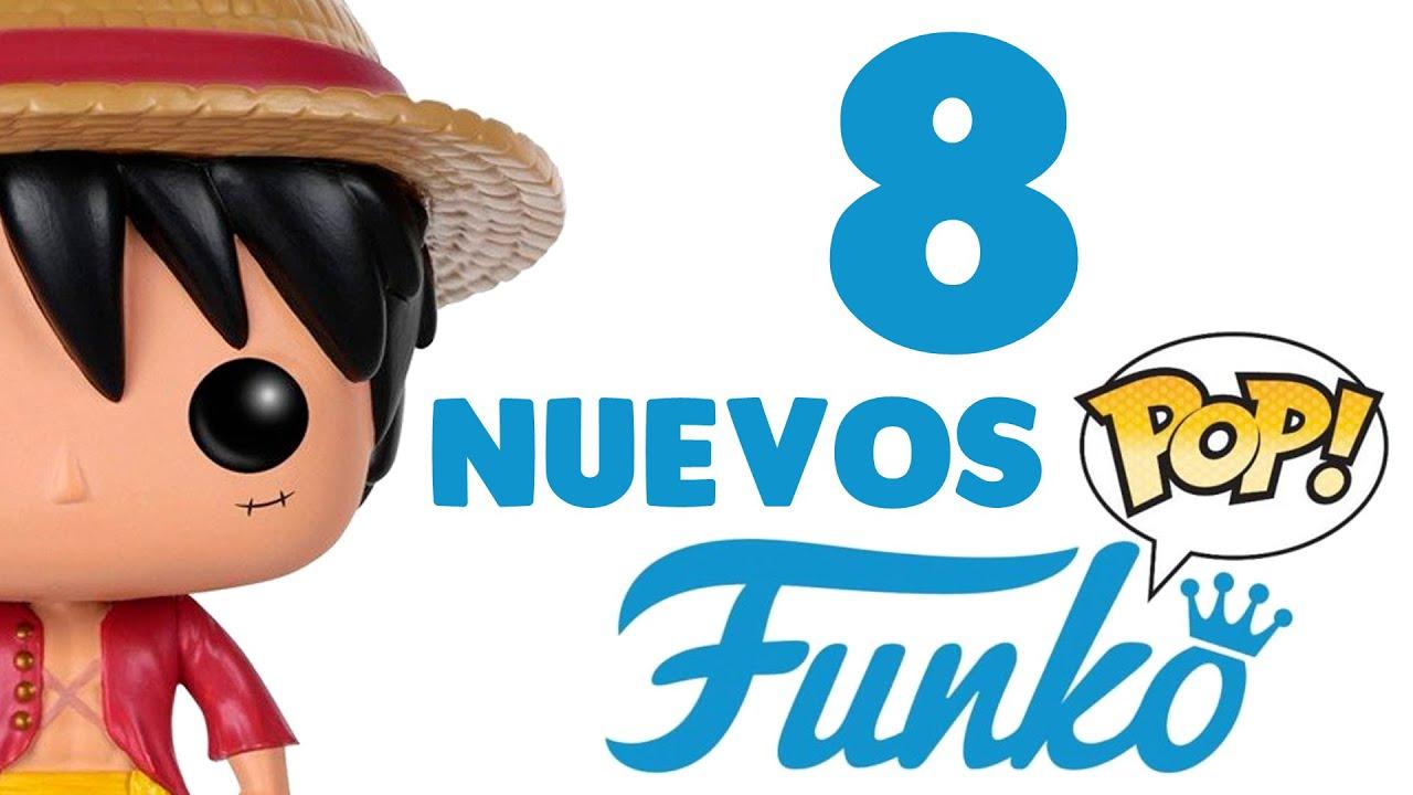 😲 ¡8 NUEVOS Funko Pop que PODRÍAN SALIR en 2020! 😲 (Ideas) One Piece - Luffy No Mi