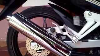[DETAIL] Knalpot Satria F150 pasang di New Jupiter MX