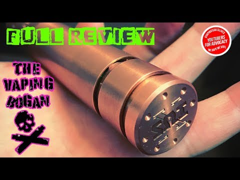 SOI Sub Zero X Mod & RDA | The Switch You're Not Allowed Take Apart | Full Review | The Vaping Bogan