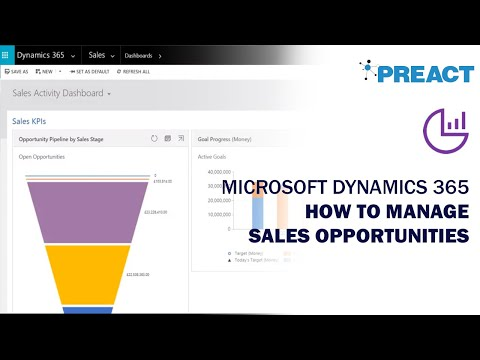 Microsoft Dynamics 365 Training: Managing Sales Opportunities