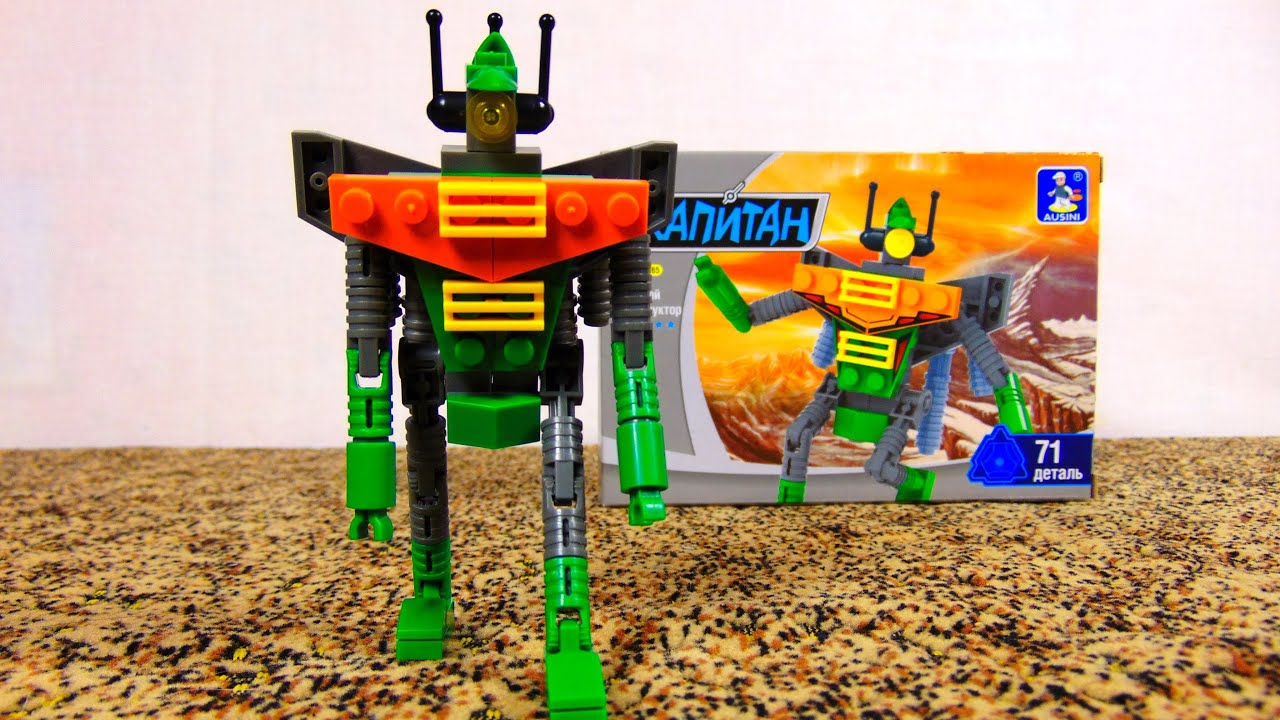 Конструктор робот детский