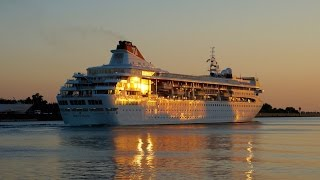 Kreuzfahrtschiff BRAEMAR - Goodbye Bremen