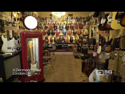 Regent Studio a Guitar Shop in London offering Guitar Strings and Musical Instruments