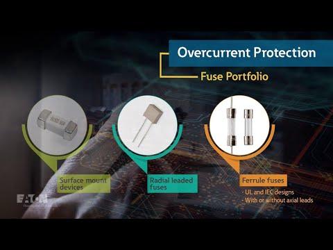 Eaton's Bussmann series electronic circuit protection portfolio