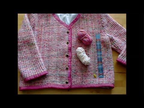 Baby mantel selber stricken