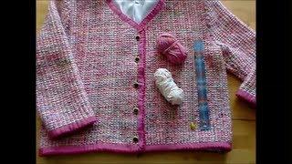 Chanel-Jacke selbst stricken - knitt your own Chanel jacket - tricoter la Veste Chanel