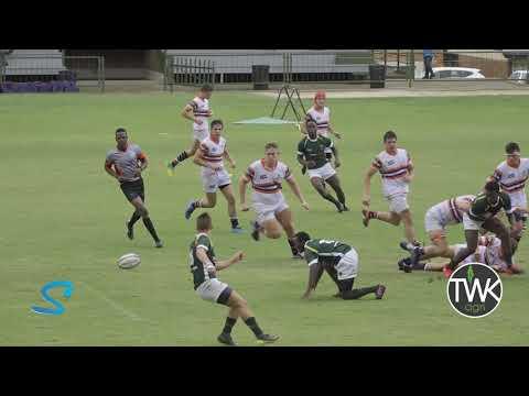 School Rugby Action - 1st Piet Retief Vs Pionier 29-02-20