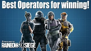 Most Overpowered and Underpowered Operators - Rainbow Six Siege