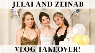 It's my birthday!! Zeinab and Jelai's VLOG TAKEOVER!! (DoLaiNab)