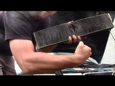How To Replace Cabin Air Filter On 1997 Ford Contour Mercury