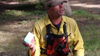 """What goes in a firefighter's """"line"""" pack?"""
