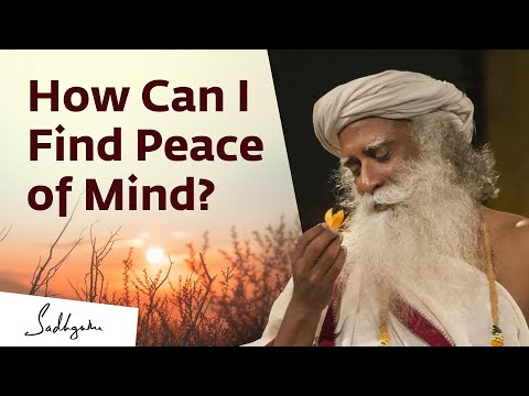 Your Peace in Your Control | Sadhguru