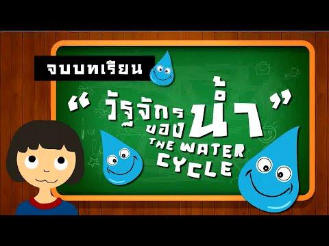 วัฏจักรของน้ํา Watercycle - Flash animation