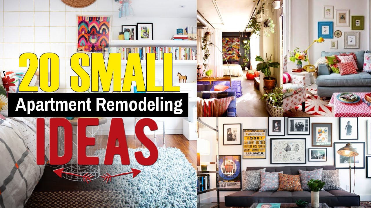 20 Small Apartment Remodeling Design Ideas