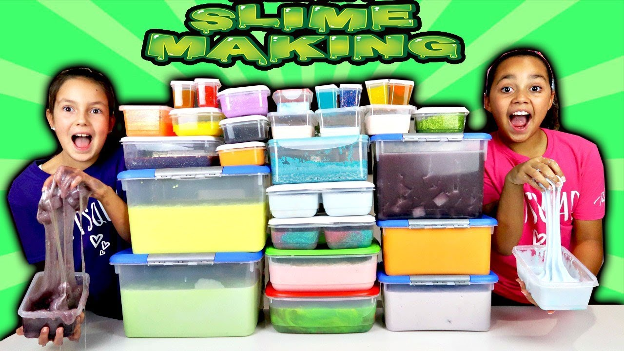 Mixing All My Slimes Diy Giant Slime Smoothie Youtube
