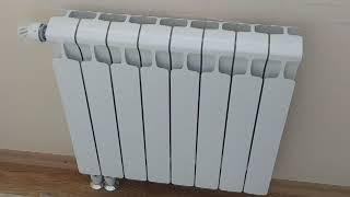 Эстетический вид системы отопления с электро котлом, скрытая проводка полипропиленовых труб.